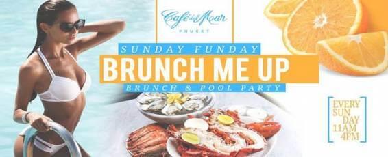 Sunday Brunch Pool Party at Cafe del Mar Phuket