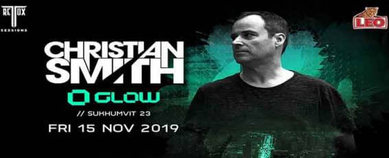 Christian Smith (Tronic) At Glow