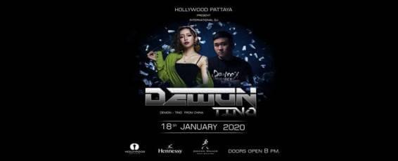 Hollywood Pattaya present Dj Demon x Mc.Tino