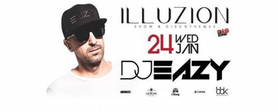 DJ EAZY at Illuzion Phuket