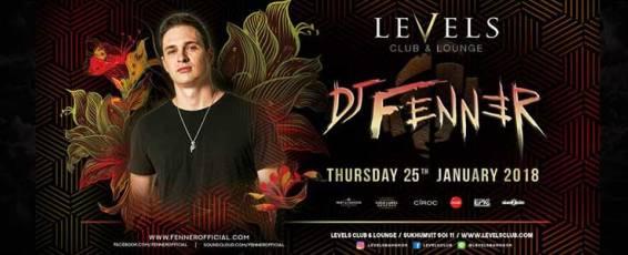 Dj Fenner (UK) at Levels Club & Lounge Bangkok
