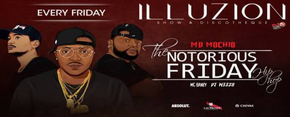 The Notorious Friday Hip-Hop Show at Illuzion