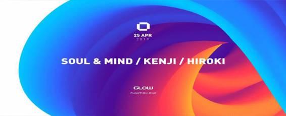 GLOW Thursday w/ Soul & Mild, Kenji & Hiroki