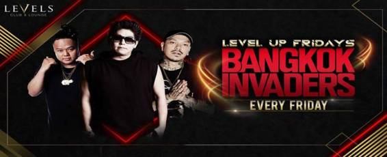 Level Up Fridays with Bangkok Invaders