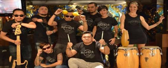 Latin Rock Night Party at Hard Rock Cafe Phuket