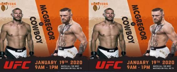 UFC Cowboy vs Mcgregor