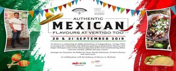 Authentic Mexican Flavours at Vertigo TOO