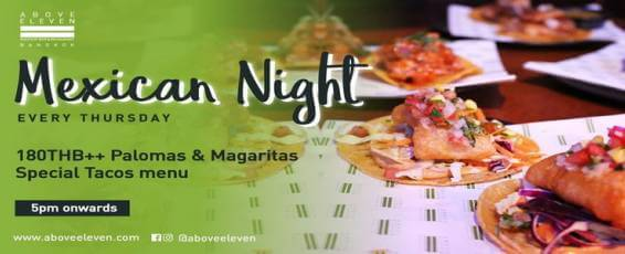 Mexican Night at Above Eleven
