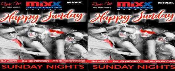 Mixx Pattaya presents Happy Sunday