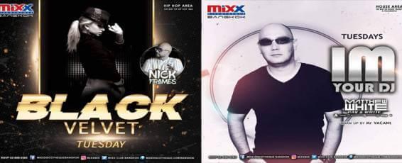"Mixx Discotheque presents ""Black Velvet Tuesday"""