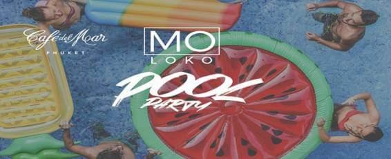 Cafe del Mar Phuket presents Moloko Pool Party