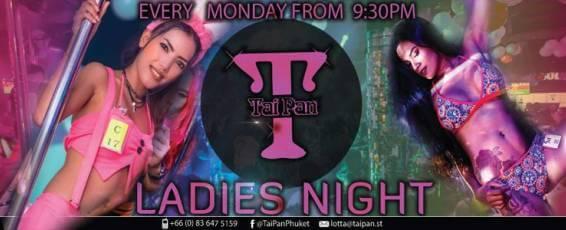 Monday Ladies Night at FBI Tai Pan