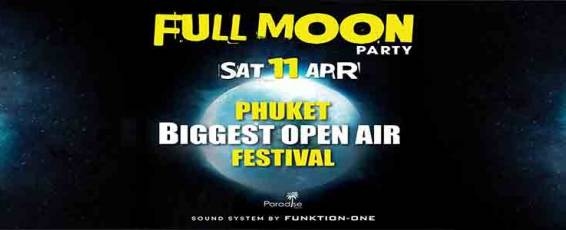 Full Moon Festival at Paradise Beach