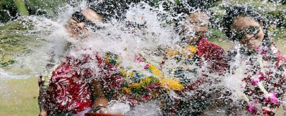 Songkran Celebrations in Koh Samui