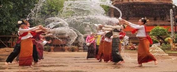 Songkran Celebrations in Chiang Rai