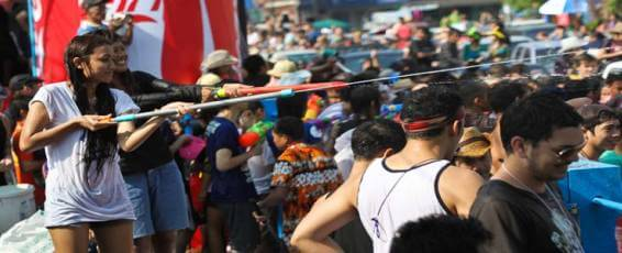Songkran Celebrations in Chiang Mai