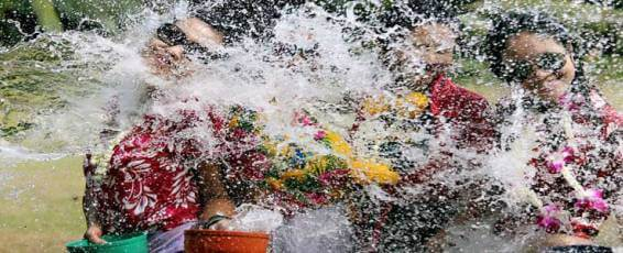 Songkran Celebrations in Krabi