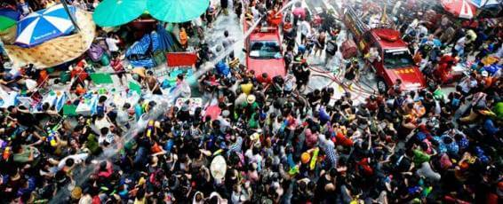 Songkran Festival Celebrations in Phuket