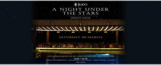 A NIGHT UNDER THE STARS at Kudo