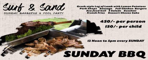 Sunday BBQ & Pool Party at Surf & Sand Resort