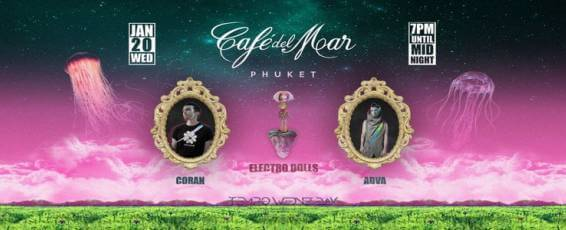 Tempo Wednesdays at Cafe Del Mar @Electro Dolls w/Coran