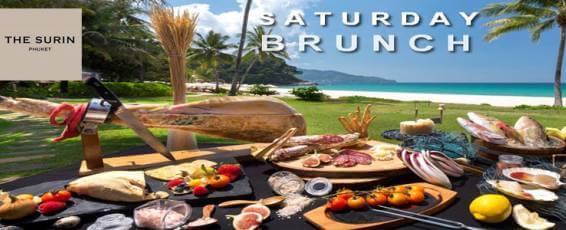 Saturday Brunch at The Surin Phuket