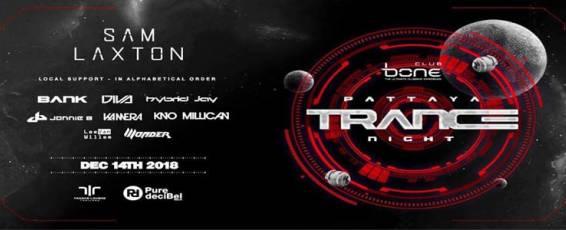 Bone Pattaya & TLT Present Pattaya Trance Night