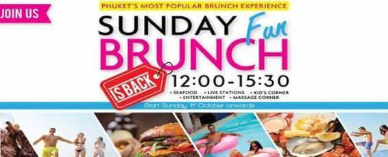 Sunday Fun Brunch at XANA Beach Club