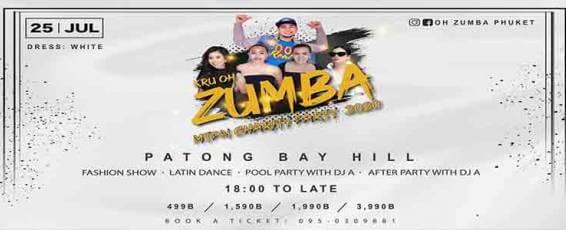 Kru Oh Zumba X MTPN Charity Party 2020