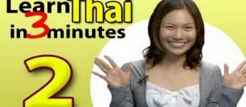 Learn Thai, Lesson 2