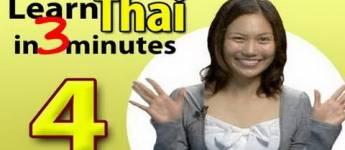 Learn Thai, Lesson 4
