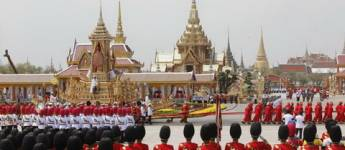 Royal Cremation Ceremony for H.M.King Bhumibol Adulyadej