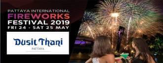 Pattaya International Fireworks Buffet at Dusit Thani Pattaya