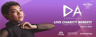 Da Endorphine Live Charity Benefit at Hard Rock Cafe Phuket