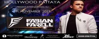 Hollywood Pattaya Present Fabian Farell