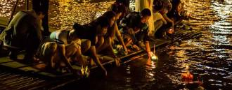 Loy Krathong Celebrations in Bangkok