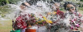 Songkran Celebrations in Krabi