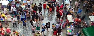 Songkran Celebrations in Bangkok