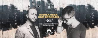 Nicola Vega & Sam Sparacio at Catch Beach Club
