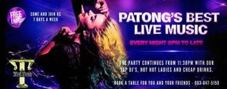 Patong's Best Live Music and DJ at FBI Tai Pan Disco Club Phuket