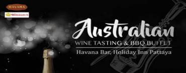 Australian Wine Tasting at Havana Bar & Terrazzo Restaurant