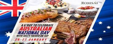 A G'day to celebrate Australian National Day