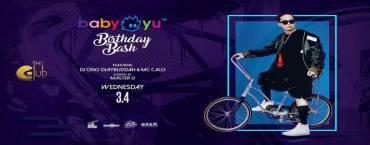 The Club@Koi & Crush Wednesday presents DJ Baby Yu Birthday Bash