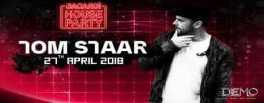 Bacardi House Party presents Tom Staar at DEMO