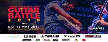 Hard Rock Pattaya Guitar Battle 2019