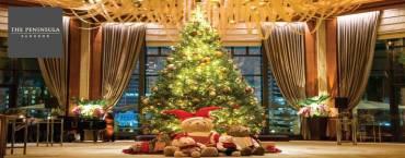 Christmas Brunch at The Peninsula