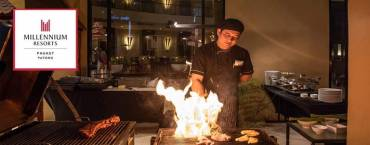 Thai BBQ Buffet at Millennium Resort