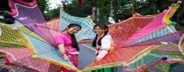 Colors of Doi Tung Festival Chiang Rai