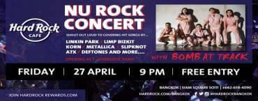 NU ROCK Concert at Hard Rock Cafe Bangkok