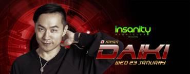Japan Nights with DJ DAIKI at Insanity